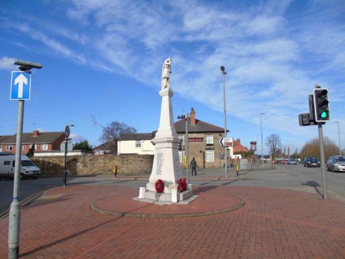 Offa's Dyke and the War Dead: Johnstown War Memorial