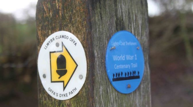 Marking and Commemorating Offa's Dyke at Trefonen